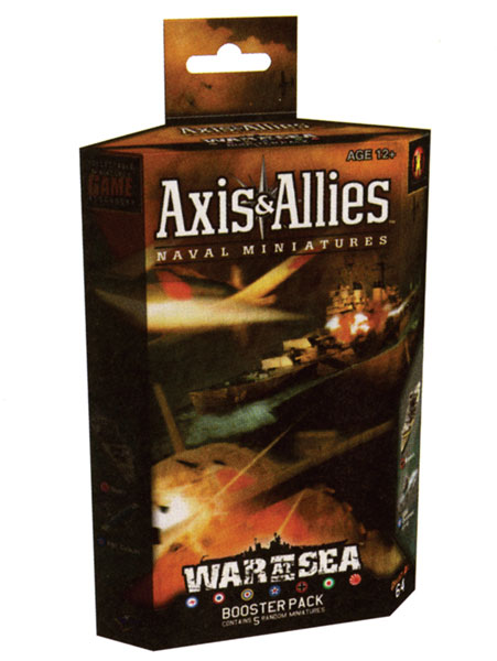 Image: Axis & Allies War at Sea CMG Booster Pack: Task Force  - Wizards of the Coast