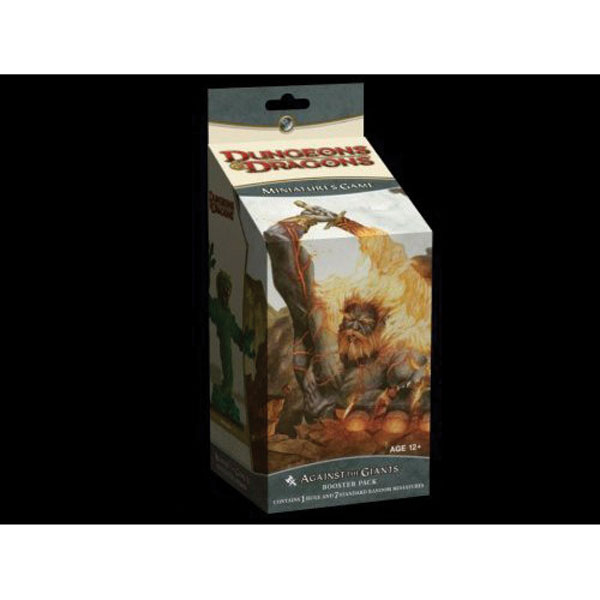 Image: D&D Miniatures Game: Against the Giants Booster Pack  - Wizards of the Coast