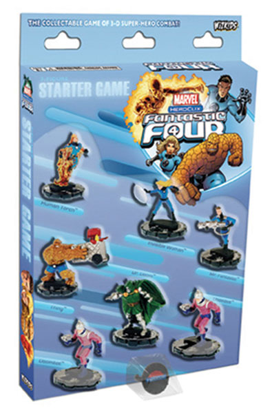 Image: Marvel Heroclix: Fantastic Four 7-Figure Starter Set  - Wizkids LLC