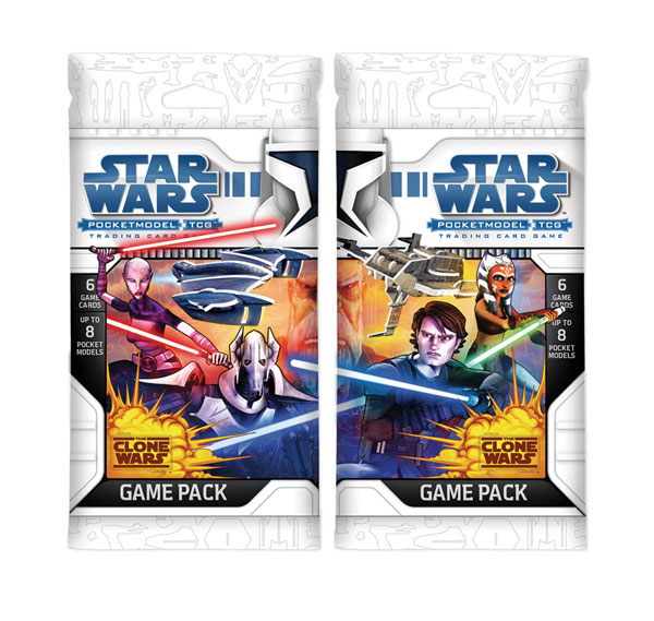 Image: Star Wars: TCG Clone Wars 24 -Count Game Pack Dis  - Wizkids LLC