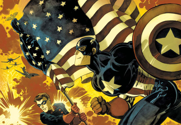 Image: Captain America: White #0 - Marvel Comics