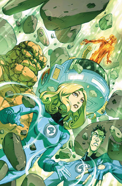 Image: Fantastic Four: True Story  #1 - Marvel Comics