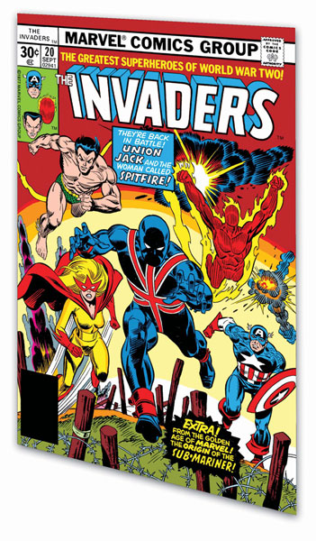 Image: Invaders Classic Vol. 02 SC  - Marvel Comics