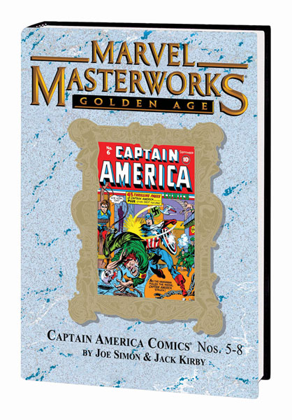 Image: Marvel Masterworks Vol. 99: Golden-Age Captain America Comics #5-8 HC  - Marvel Comics