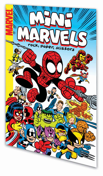Image: Mini-Marvels Vol. 01: Rock, Paper, Scissors  (digest) - Marvel Comics