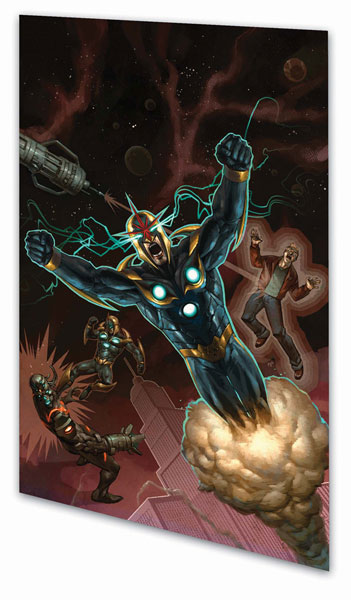 Image: Nova Vol. 02: Knowhere SC  - Marvel Comics
