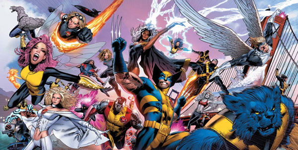 Image: Uncanny X-Men #500 (Greg Land Cover) - Marvel Comics