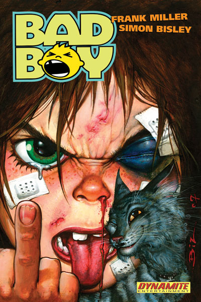 Image: Bad Boy - Bisly cover HC  - D. E./Dynamite Entertainment