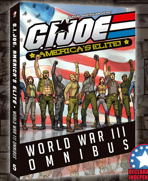 Image: G.I. Joe: America's Elite Vol. 05 - WWIII Omnibus SC  - Devil's Due Publishing Inc