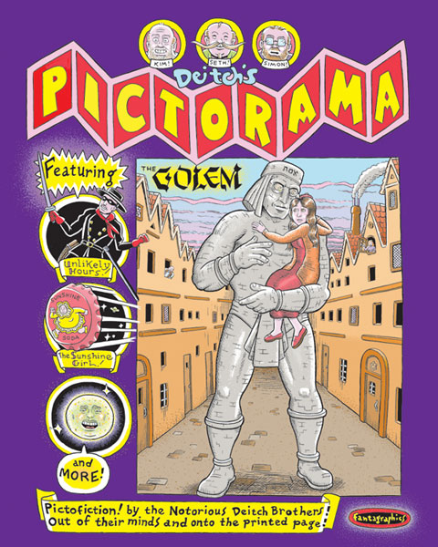 Image: Deitch's Pictorama SC  - Fantagraphics Books
