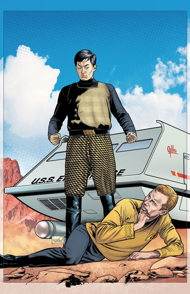 Image: Star Trek: Enterprise Experiment #4 - IDW Publishing