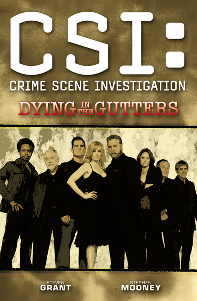 Image: CSI: Dying in the Gutters SC  (new printing) - IDW Publishing