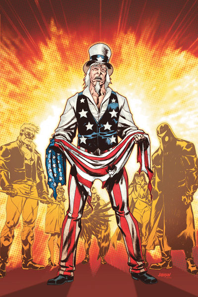 Image: Uncle Sam Freedom Fighters: Brave New World SC  - DC Comics