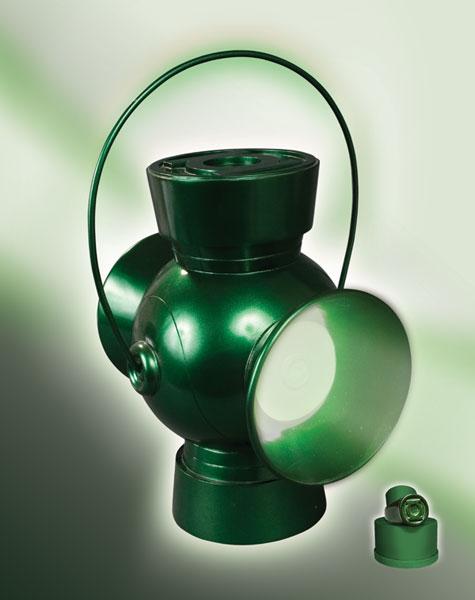 green lantern ring prop. JLA Trophy Room Green Lantern