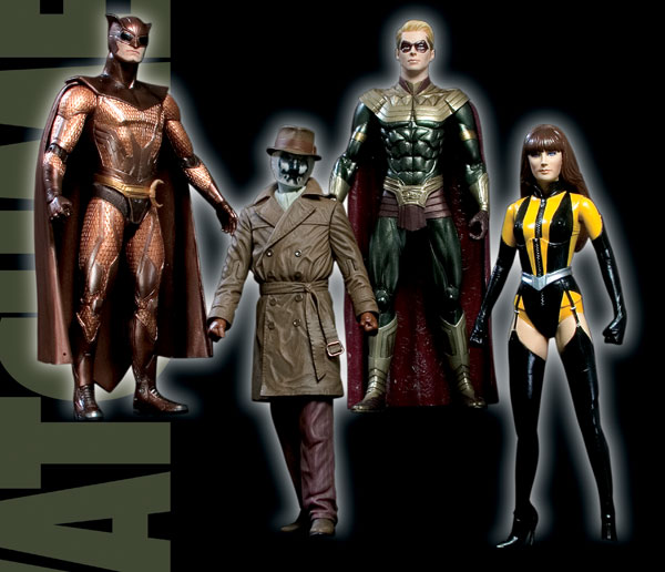 Image: Watchmen Movie Action Figure Set  (4)