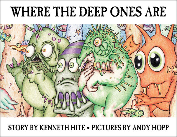 Image: Where the Deep Ones Are HC  - Atlas Games