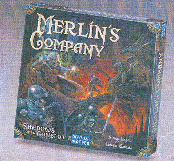 Image: Shadows Over Camelot: Merlin's Company  - Days of Wonder