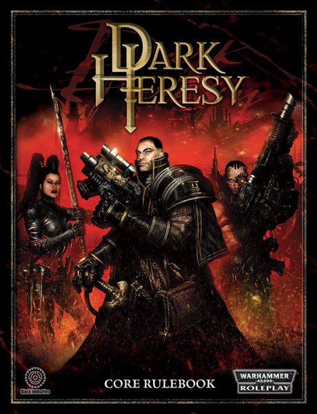 Image: Warhammer 40,000 Roleplay: Dark Heresy Core Rulebook HC  - Fantasy Flight Publishing Inc