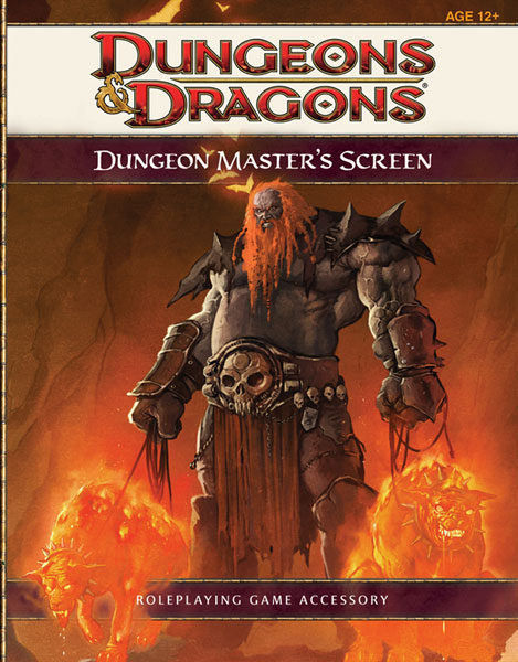 Image: Dungeons & Dragons 4th Ed. DM Screen  - Wizards of the Coast
