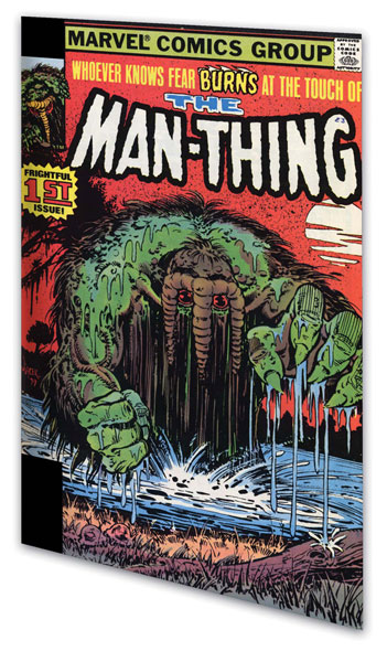 Image: Essential Man-Thing Vol. 02 SC  - Marvel Comics