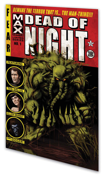 Image: Dead of Night Featuring the Man-Thing SC  - Marvel Comics
