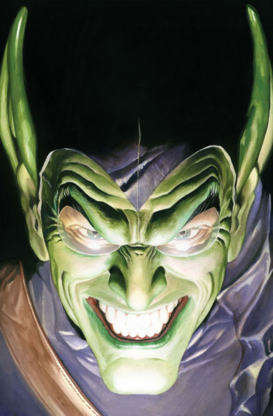 Image: Amazing Spider-Man: Green Goblin Alex Ross Poster   -