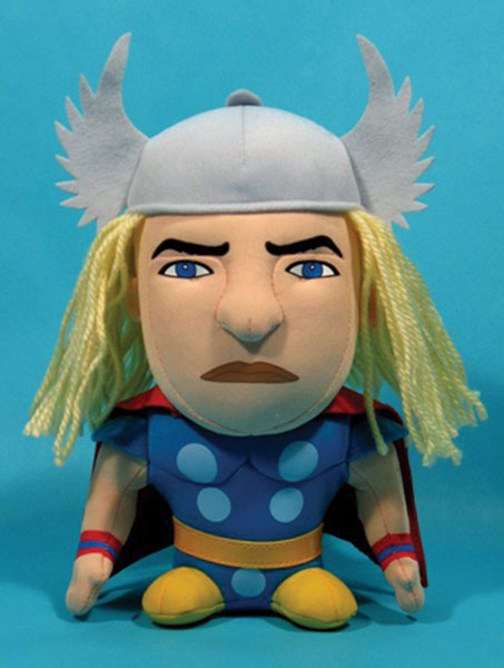Image: Marvel Super Deformed Plush: Thor  -