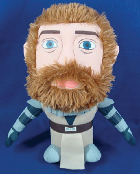 Image: Star Wars: Clone Wars Super Deformed Plush - Obi-Wan  -