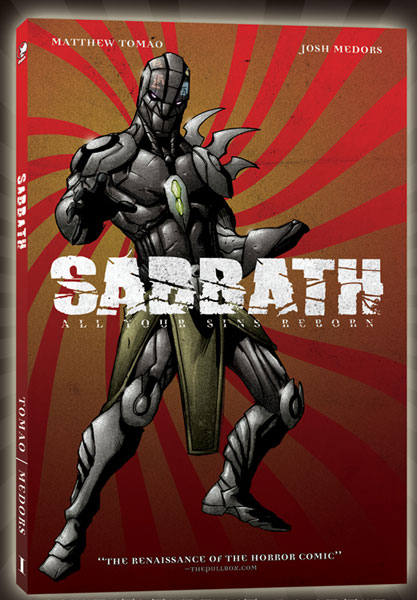 Image: Sabbath: All Your Sins Reborn Vol. 01: Collected Pogrom SC  - Devil's Due Publishing Inc