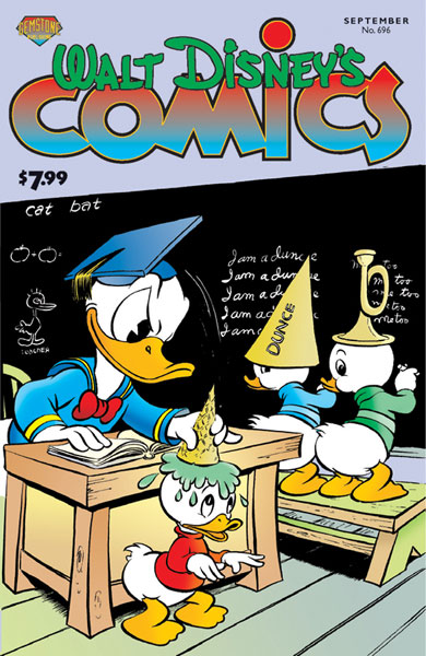 Image: Walt Disney's Comics & Stories #696 - Gemstone Publishing