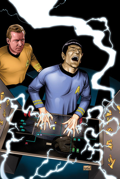 Image: Star Trek: The Enterprise Experiment #5 - IDW Publishing