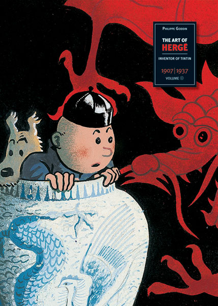 Image: Art of Hergé: Inventor of Tintin Vol. 01, 1907-1937 HC  - Last Gasp