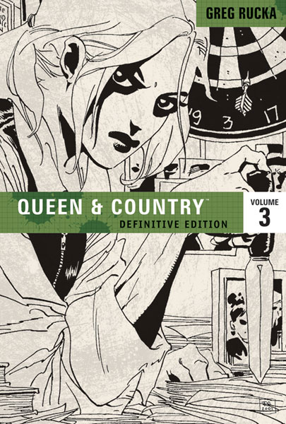 Image: Queen & Country Definitive Edition Vol. 03 SC  - Oni Press Inc.