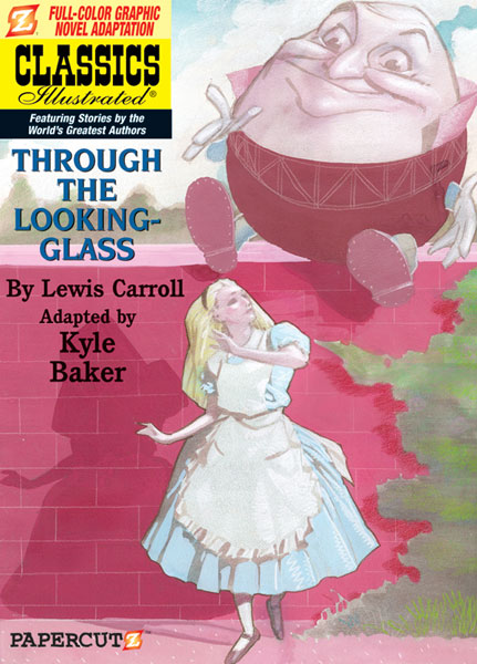 Image: Classics Illustrated Graphic Novel #3: Through the Looking-Glass HC