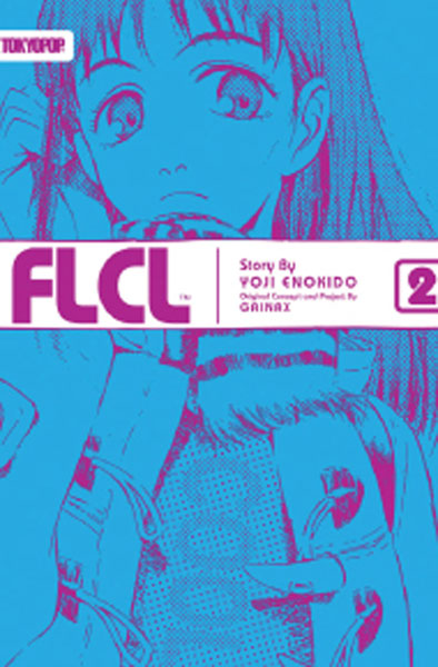 Image: FLCL Novel Vol. 02 SC  - Tokyopop