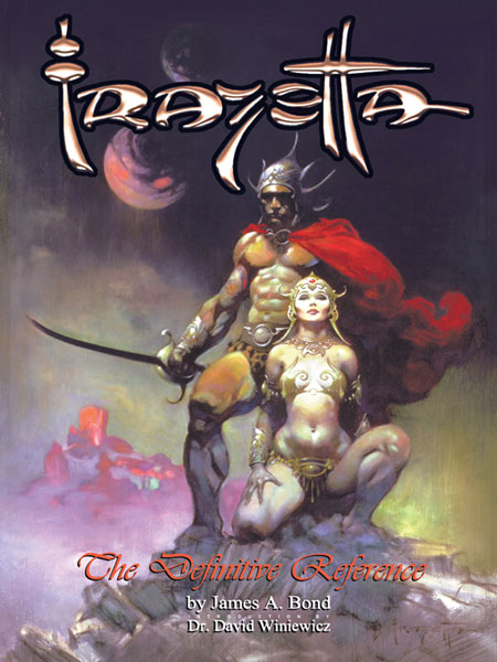 Image: Definitive Frazetta Reference SC  - Vanguard Productions