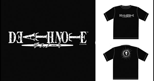 Image: Death Note: Logo Black T-Shirt  (M) -