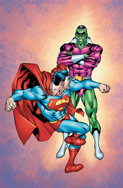Image: Superman vs. Brainiac SC  - DC Comics