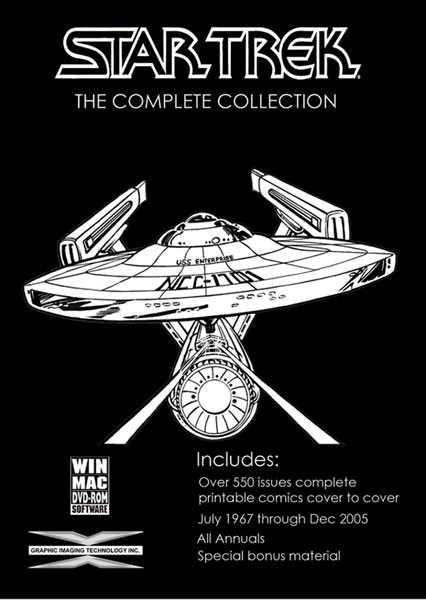 Image: Star Trek: The Complete Collection  (DVD-ROM) -