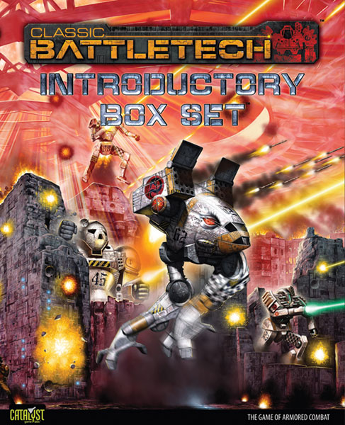 Image: Classic Battletech Introductory Box Set  - Catalyst Game Labs