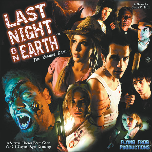 Image: Last Night on Earth: The Zombie Game  - Flying Frog Productions
