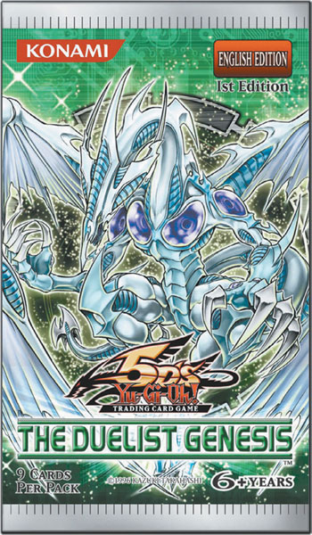 Image: Yu-Gi-Oh! TCG: Duelist Genesis Booster Box  - Upper Deck Company