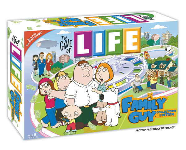 Image: Game of Life - Family Guy Edition  - USAopoly