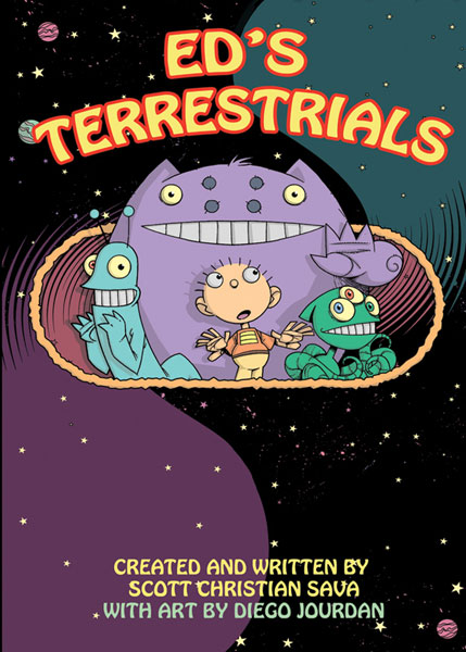 Image: Eds Terrestrials SC  - IDW Publishing