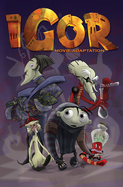 Image: Igor Movie Adaptation SC  - IDW Publishing