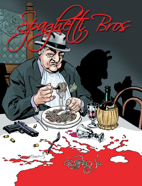 Image: Spaghetti Bros. Vol. 01 HC  - IDW Publishing