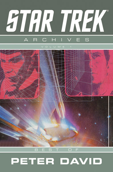 Image: Star Trek Archives Vol. 01: Best of Peter David SC  - IDW Publishing