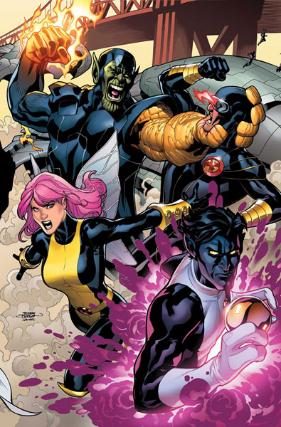 Image: Secret Invasion: X-Men #2 - Marvel Comics