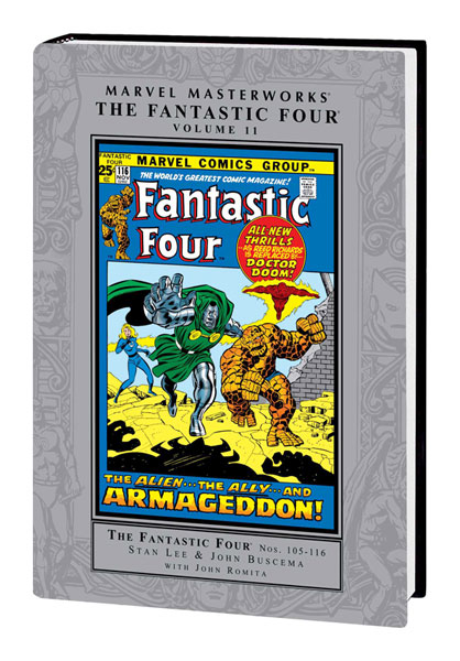 Image: Marvel Masterworks: Fantastic Four Vol. 11 HC  - Marvel Comics