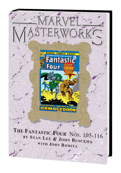 Image: Marvel Masterworks Vol. 103: Fantastic Four Nos. 105-116  (variant hc) - Marvel Comics